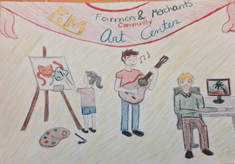 Alyssa Gomez wins Art Contest