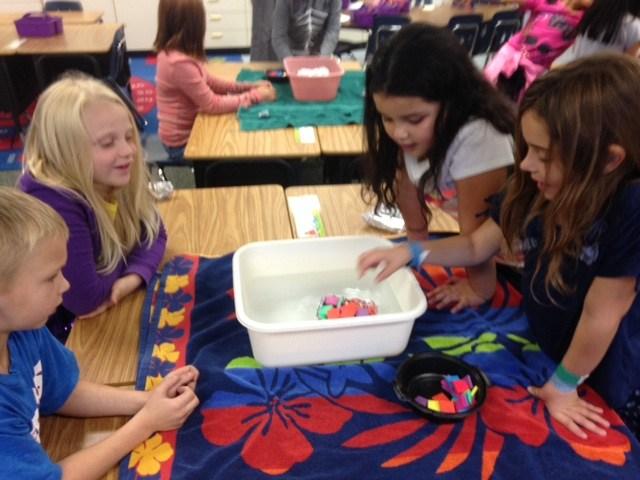 Meadow Lane 2nd Graders love STEM!!!