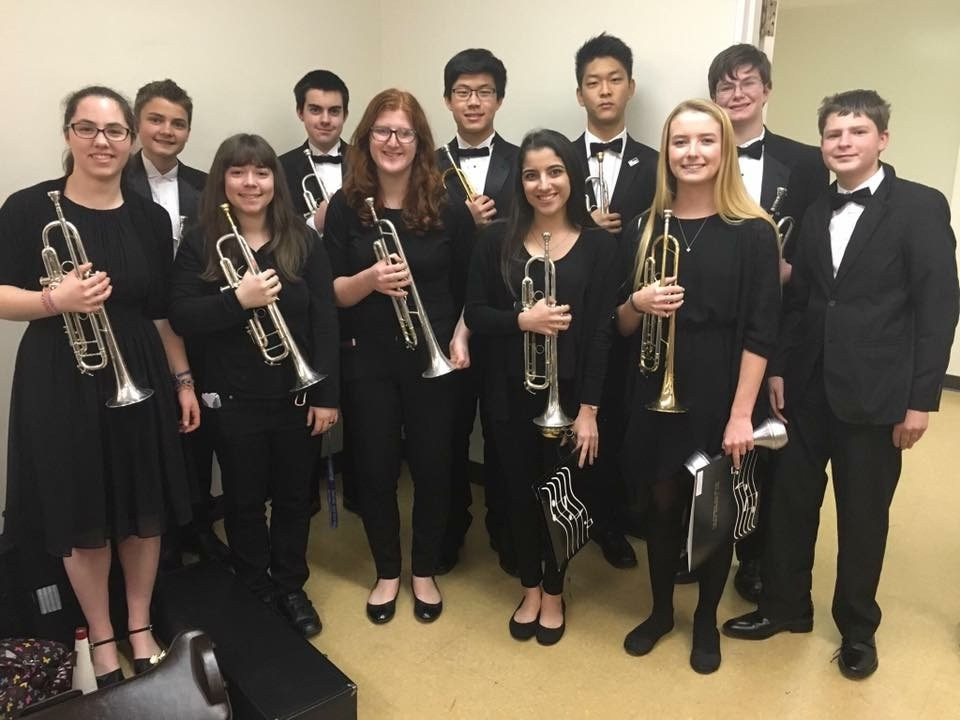 Honor Band Students Highlight CUHSD's Wealth of Musical Talent