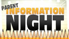 Parent Information Night at H Clark Powers