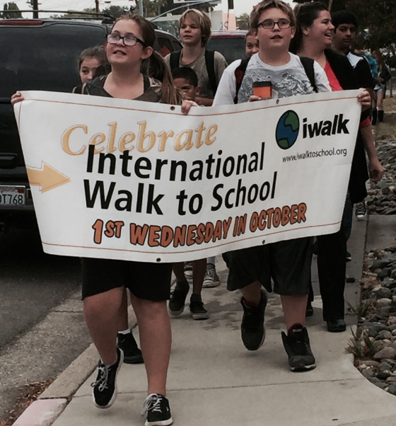 International Walk to School