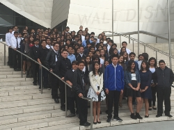 El Sereno Music Students go to Walt Disney Concert Hall