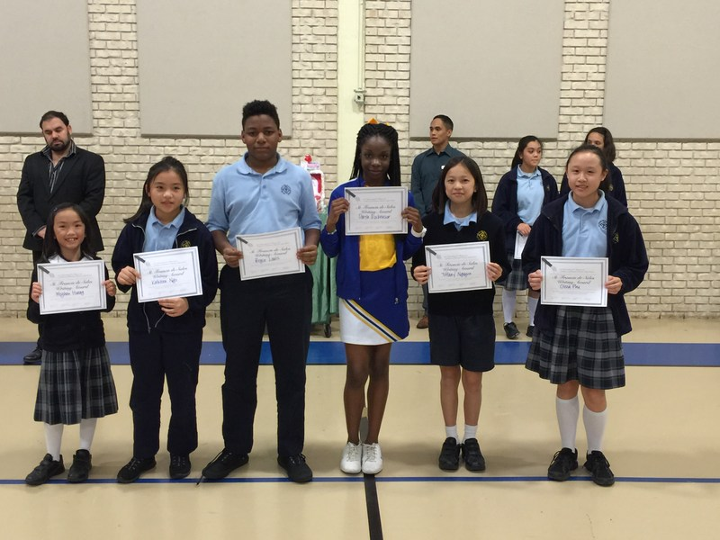 Six Students win Archdiocesan/UST Essay Contest Awards!