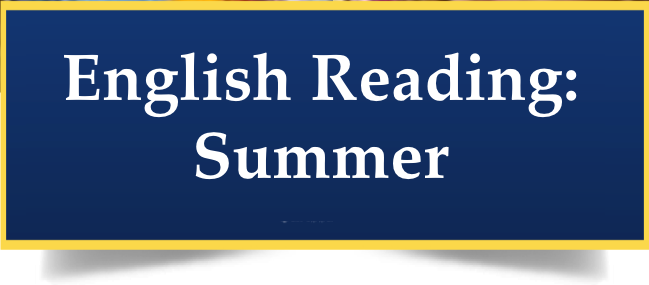 Summer English Reading? click here! Thumbnail Image