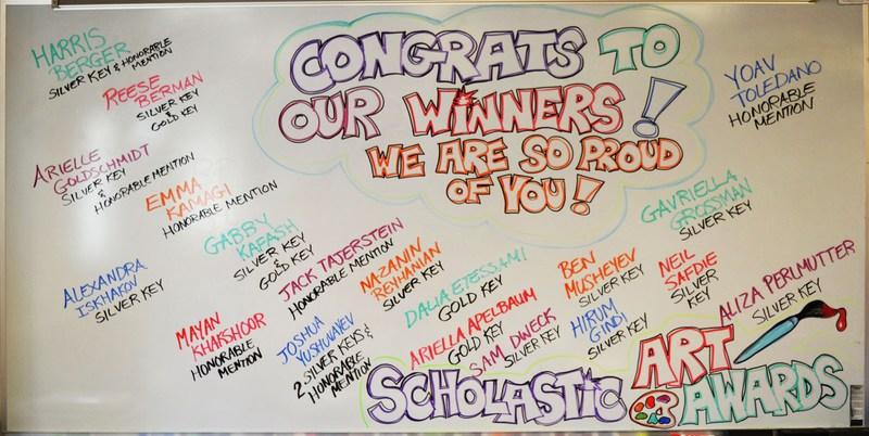 Who are the NSHAHS Scholastic Art Award winners? Thumbnail Image