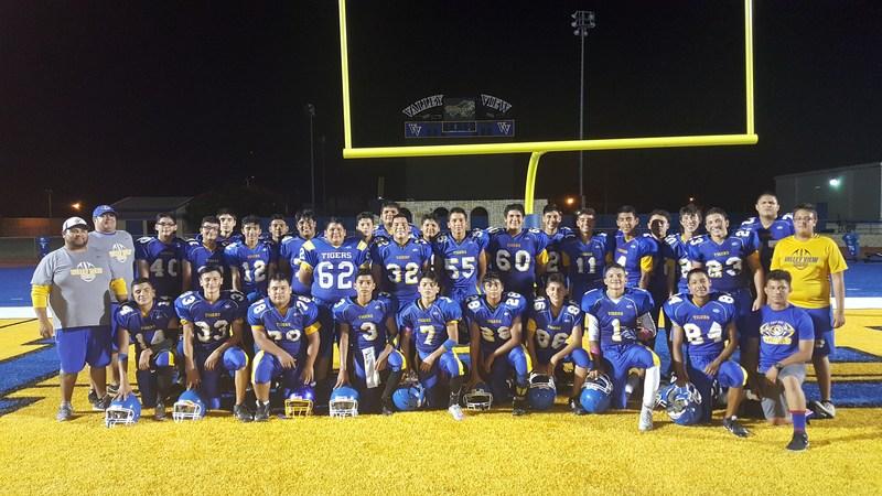 A big congratulations to the freshman football team on their amazing win over Laredo Cigarroa, 28-13!!! Thumbnail Image