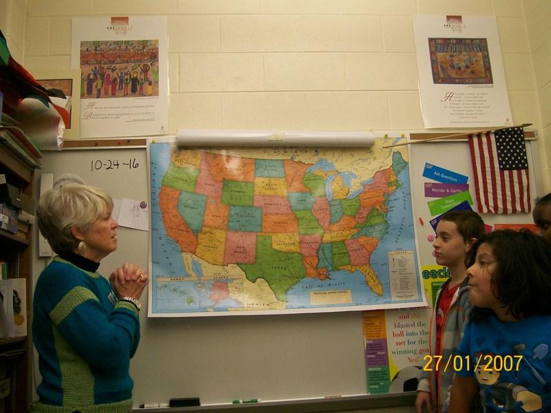 Volunteer and Translator, Sandra Dangler Thumbnail Image