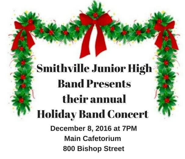 SJHS Band Holiday Concert Thumbnail Image