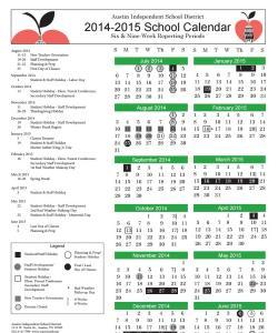AISD 2014-2015 School Calendar
