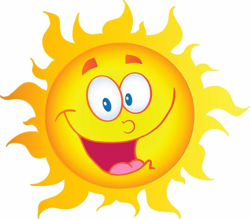 Animated sun