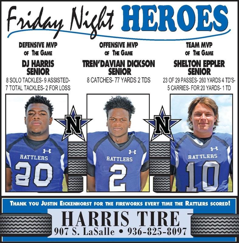 FRIDAY NIGHT HEROES!