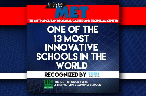 The Met Named One of the 13 Most Innovative Schools in the World