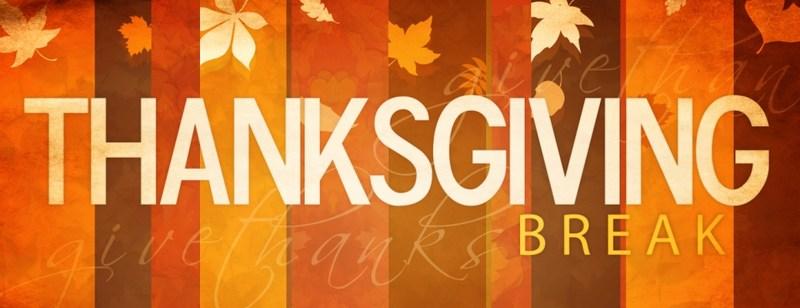 Thanksgiving Holidays