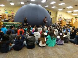 UTPA Planetarium Visits Waitz Elementary