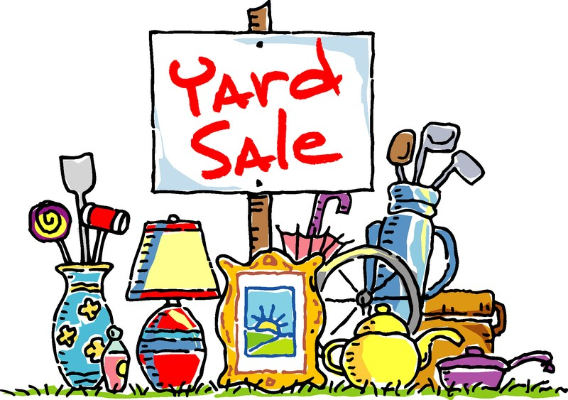 Join us for First's Annual Yard Sale