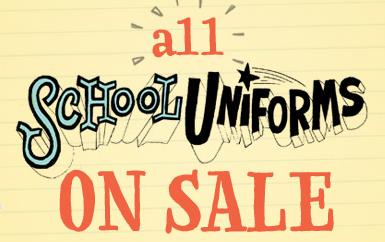 Uniform Sale!