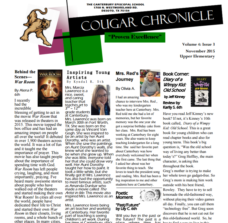 Cougar Chronicle - Issue 3