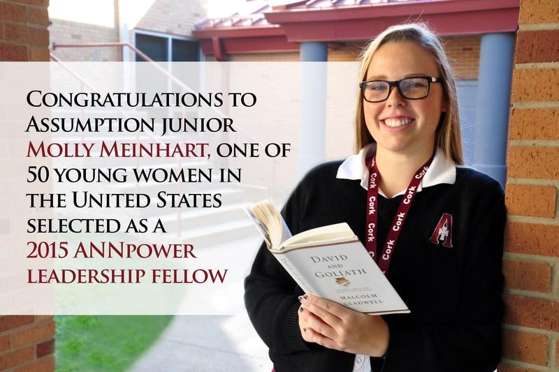 Molly Meinhart '17 Selected as ANNpower Leadership Fellow