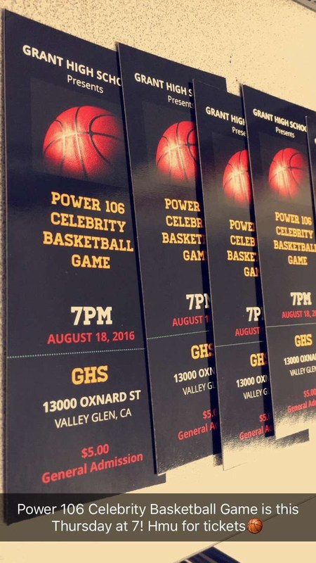 Power 106 All Star Basketball Game is this Thursday, 8/18 Thumbnail Image