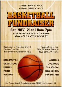 Annual Extravaganza & Basketball Fundraiser