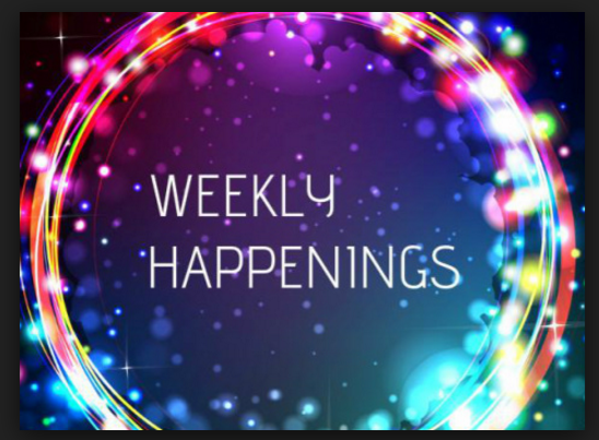 Weekly Happenings Thumbnail Image