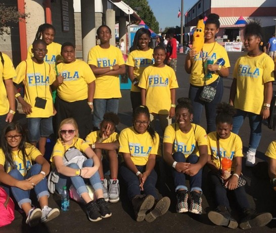 Valdosta Middle School's FBLA Wins in Perry