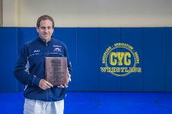 Head Wrestling Coach, Mark Halvorson named the USA Wrestling 2014 Volunteer Coach of the Year!