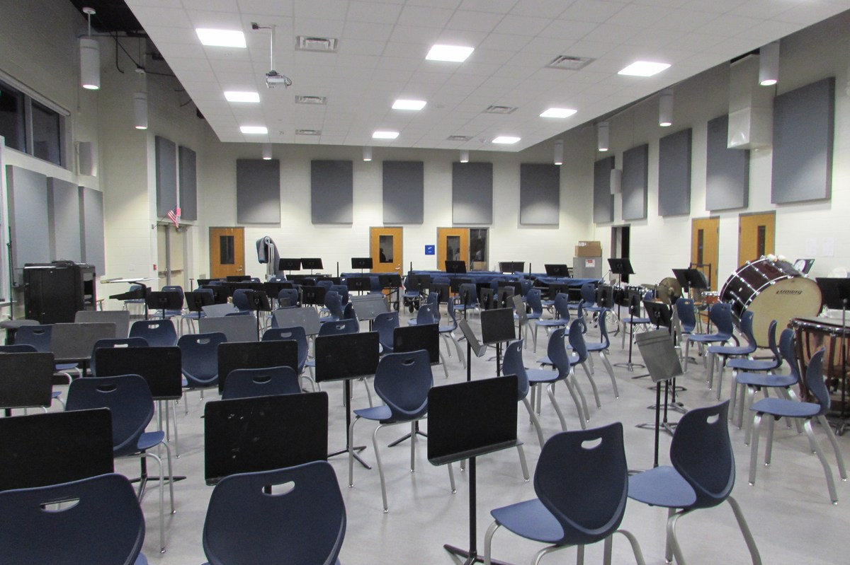 New Band Room