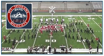 Mt. Spokane Takes Top Honors @ WSU Marching Band Competition