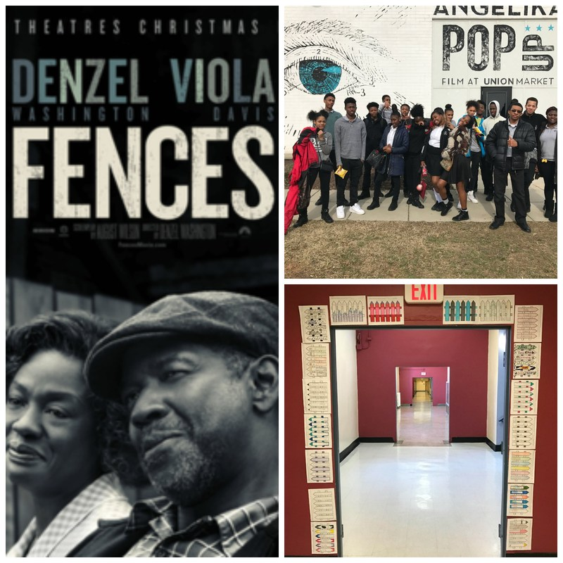 English Students Read August Wilson's Pulitzer-Prize Winning Play Fences in Class, then See the Movie Thumbnail Image