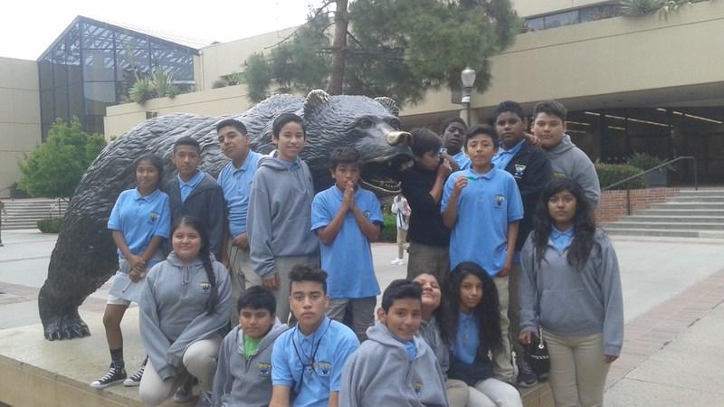 7th graders visit UCLA