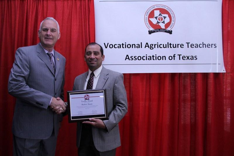 VMHS Ag teacher recognized for service