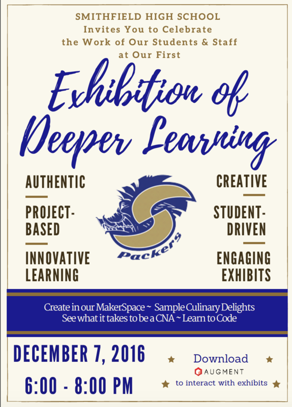 Exhibition of Deeper Learning Banner