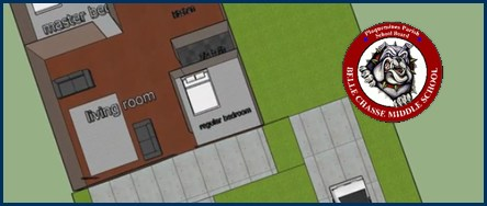 Belle Chasse Middle School 8th Graders are Designing Homes with 3-D software Thumbnail Image
