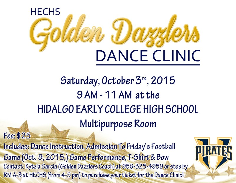 HECHS Golden Dazzlers Dance Clinic