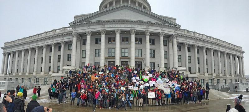 Utah Students for Clean Air Rally - 2016