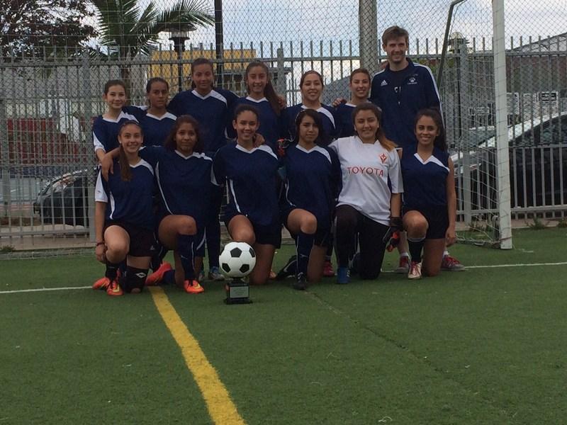 HSA Girls Soccer Wins Championship