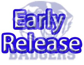 Early Release Friday, Sept. 4