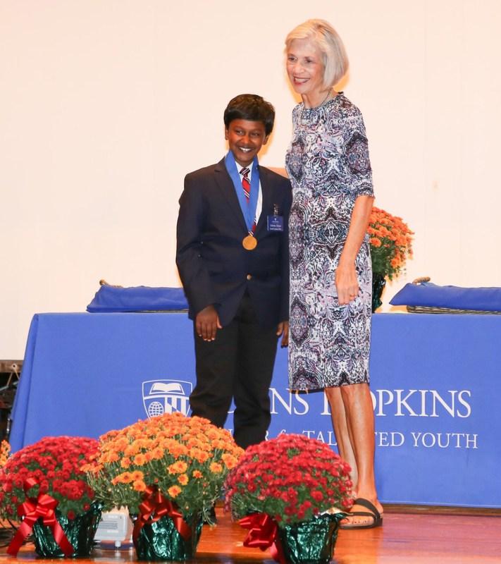 Moreland Student Honored at Johns Hopkins University Thumbnail Image
