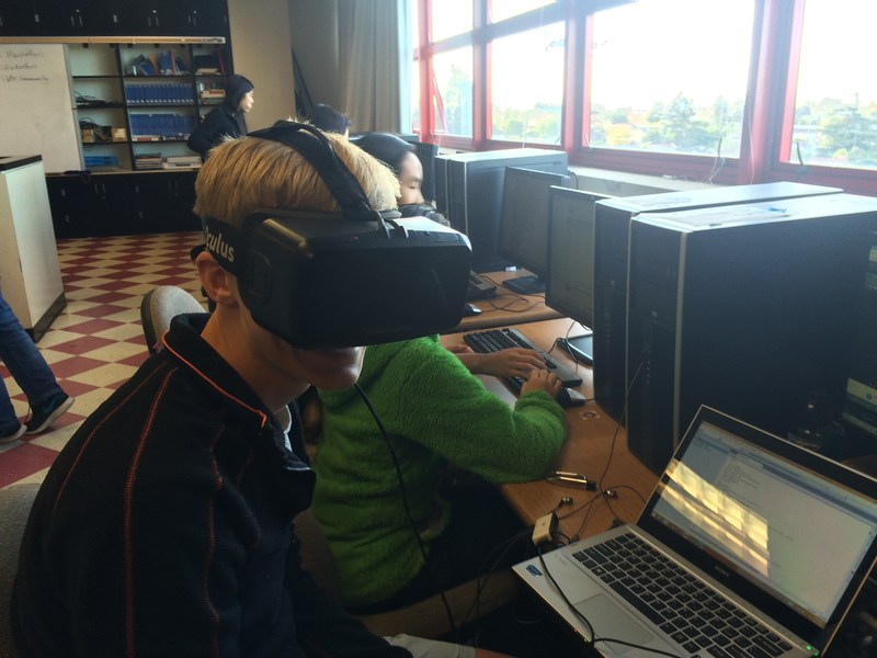 ALBANY STUDENTS PARTICIPATE IN HOUR OF CODE