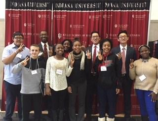 Students Visit IU Kelley School of Business