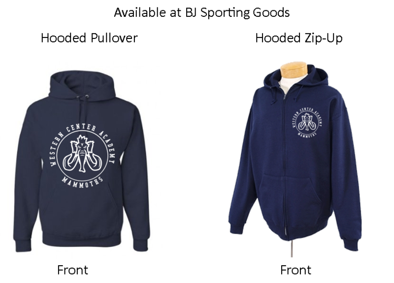 WCA Sweatshirts - Click here for more information