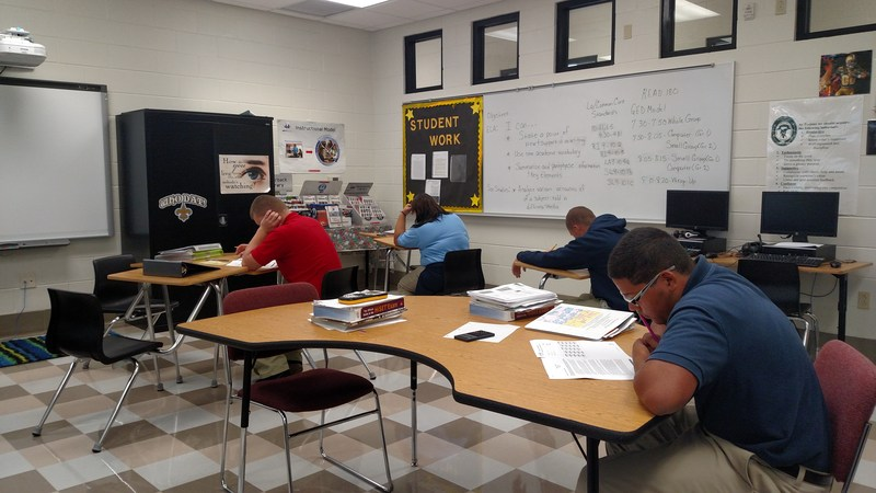 PPLC Students Working Hard toward their GED! Thumbnail Image