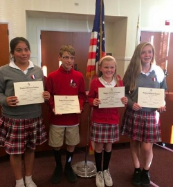 St. John's wins BIG in the Daughters of the American Revolution essay contest!