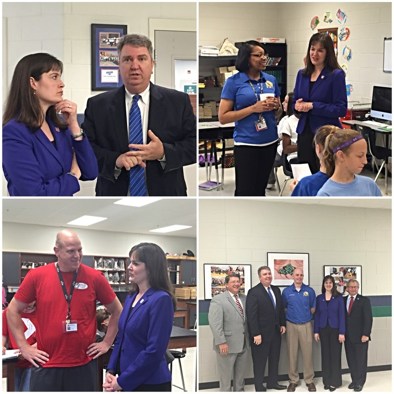 Bartlett City Schools Hosts Tennessee Education Commissioner