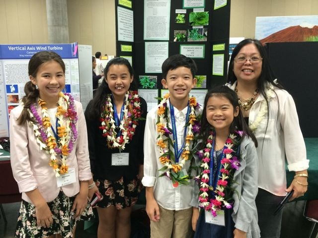 WAY TO GO KMS! State Science Fair 2015 Winners