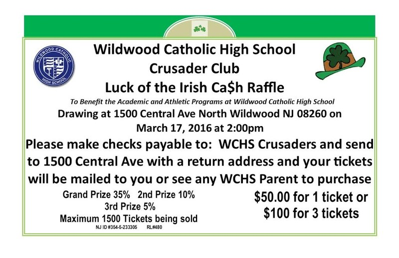 Luck of the Irish Ca$h Raffle