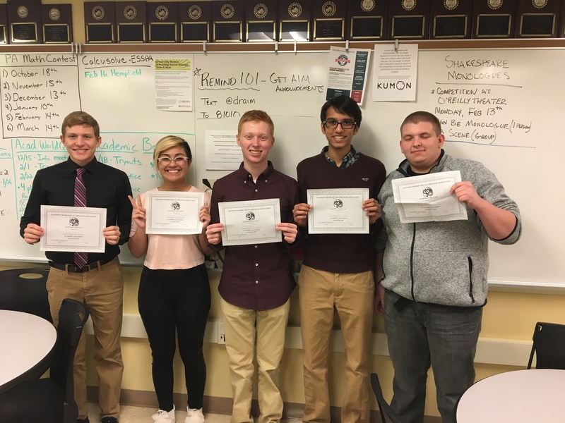 Gateway Academic Challenge teams place in local competition Thumbnail Image