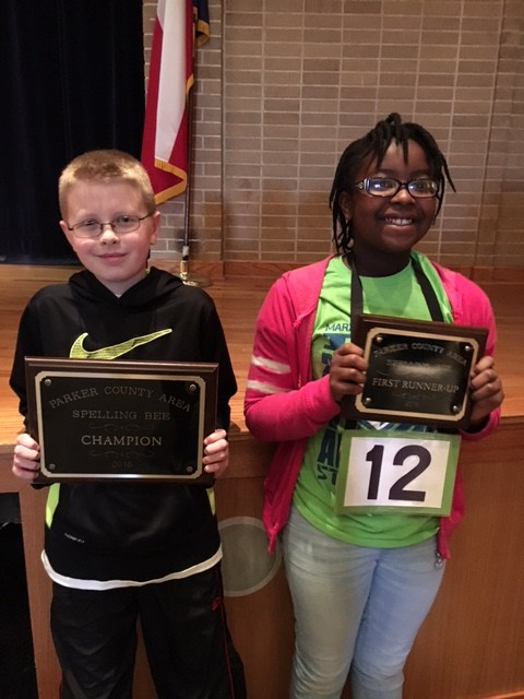 WISD Students Win Parker County Spelling Bee