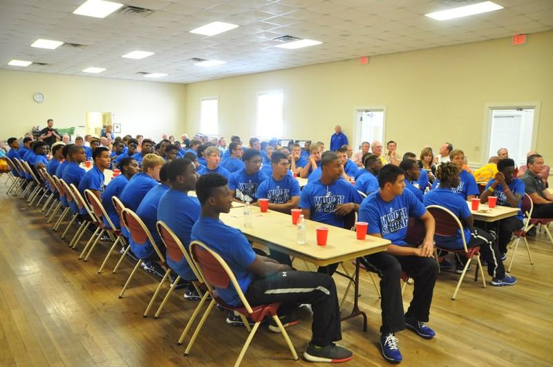 Coach Spradlin, Varsity Football Continue 75 Year Tradition